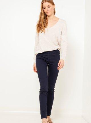 Tmavě modré džíny skinny fit CAMAIEU