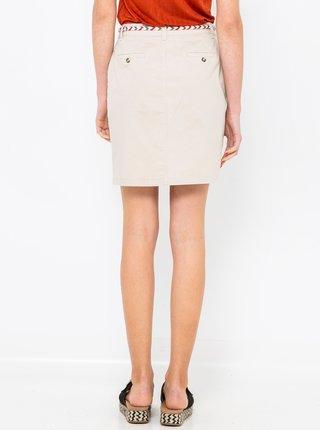Béžová sukně CAMAIEU