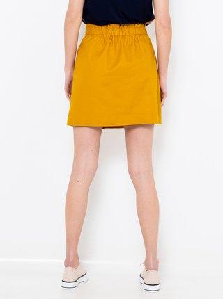 Hořčicová sukně CAMAIEU