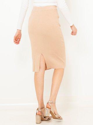Světle růžová pouzdrová sukně CAMAIEU