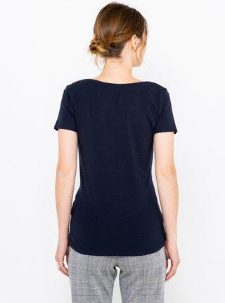 Tmavomodrý basic tričko CAMAIEU
