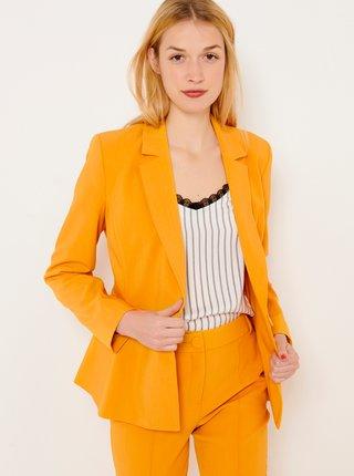 Oranžové sako CAMAIEU