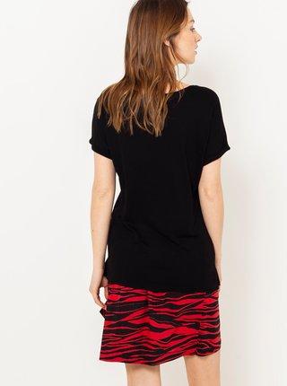 Černé tričko s motivem Mickey CAMAIEU