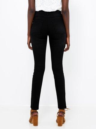 Černé slim fit džíny CAMAIEU