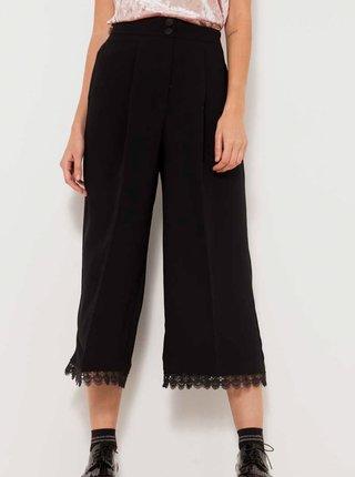 Černé culottes s vysokým pasem CAMAIEU
