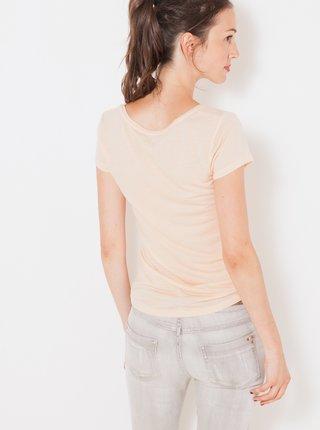 Béžové basic tričko CAMAIEU