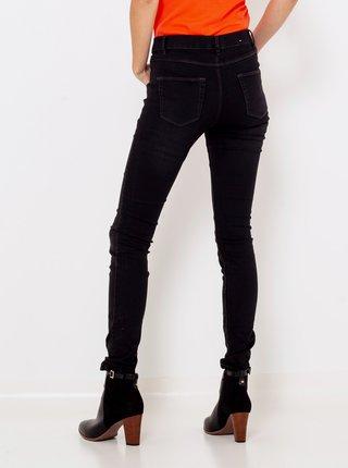 Černé skinny fit džíny CAMAEU