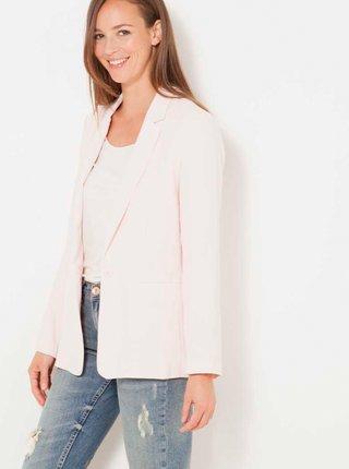 Světle růžové dámské sako CAMAIEU