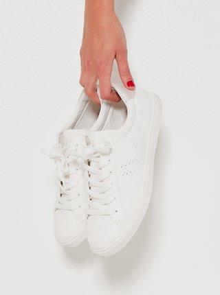 Biele tenisky CAMAIEU