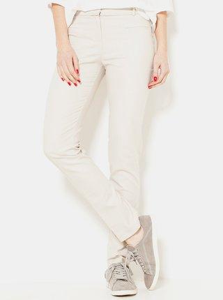 Béžové kalhoty CAMAIEU