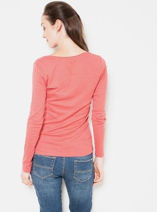 Basic tričká pre ženy CAMAIEU - koralová