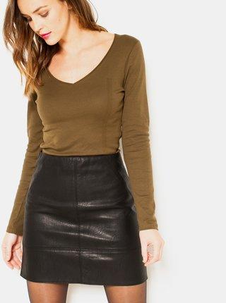 Topy a tričká pre ženy CAMAIEU - hnedá