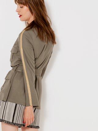 Ľahké bundy pre ženy CAMAIEU - kaki