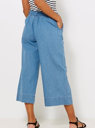 Modré culottes nohavice CAMAIEU