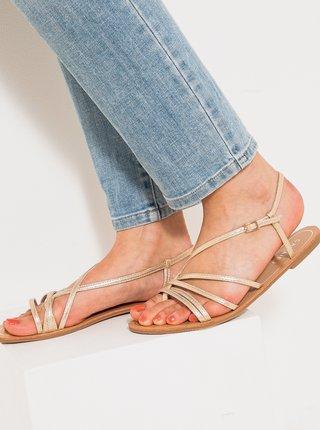 Béžové sandály CAMAIEU