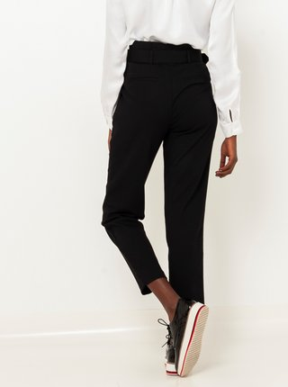 Čierne straight fit nohavice CAMAIEU