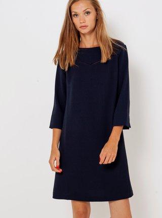 Tmavě modré šaty CAMAIEU