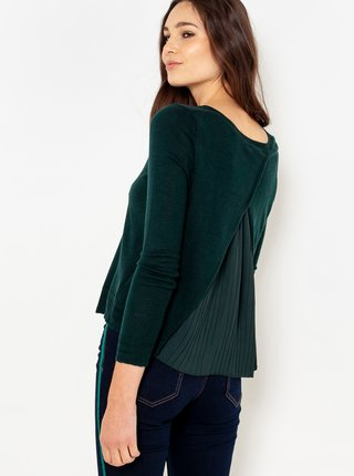 Tmavozelený sveter CAMAIEU