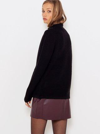 Černý dlouhý svetr CAMAIEU