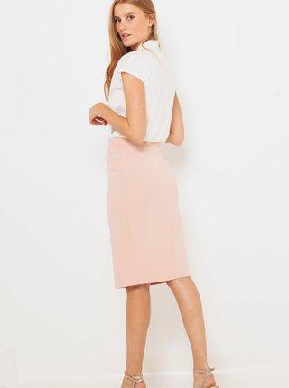 Světle růžová sukně CAMAIEU