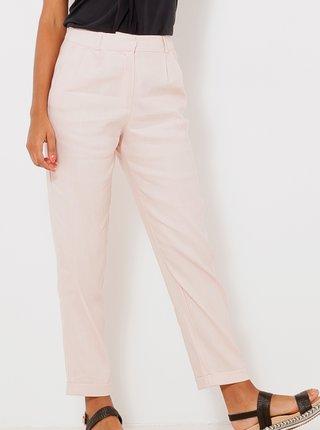 Nohavice pre ženy CAMAIEU - svetloružová