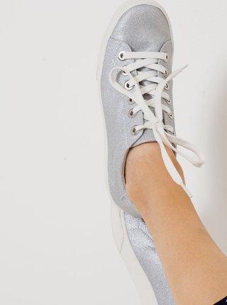 Tenisky ve stříbrné barvě CAMAIEU