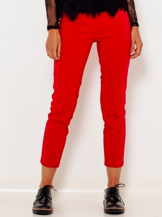 Nohavice pre ženy CAMAIEU - červená