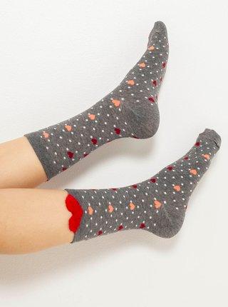 Ponožky pre ženy CAMAIEU - sivá
