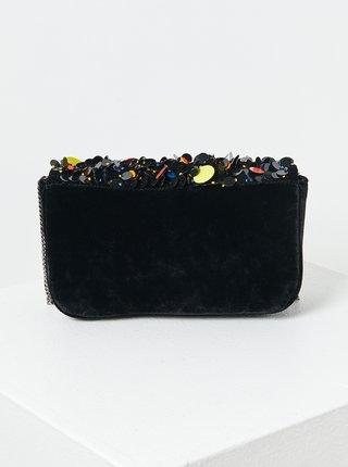 Čierna kabelka s flitrami CAMAIEU