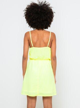 Neonovo žlté šaty CAMAIEU