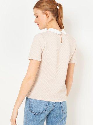 Tělové tričko s límečkem CAMAIEU