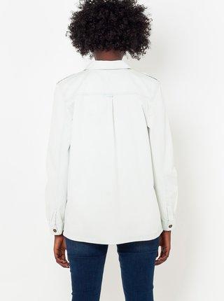 Světle modrá džínová košile CAMAIEU