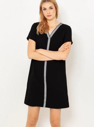 Černé šaty s lemováním CAMAIEU