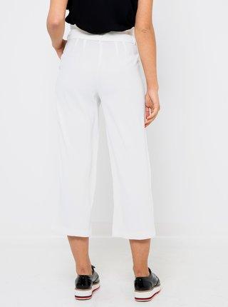Biele skrátené nohavice CAMAIEU