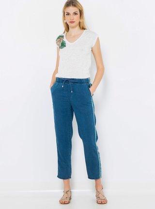Modré rifľové nohavice CAMAIEU