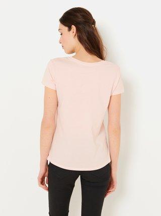 Tělové tričko s nápisem CAMAIEU