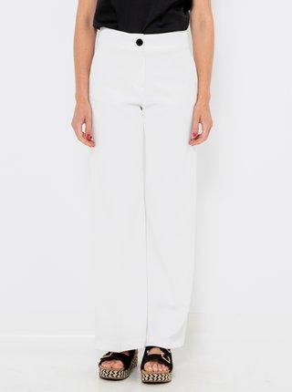 Bílé straight fit kalhoty CAMAIEU