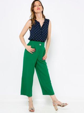Zelené culottes CAMAIEU