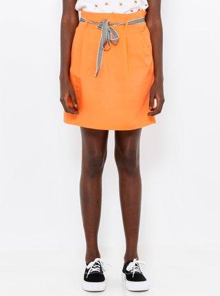 Oranžová sukně CAMAIEU