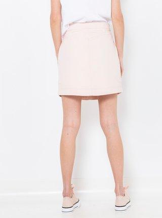 Světle růžová džínová sukně CAMAIEU
