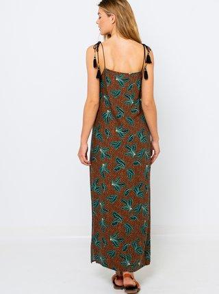 Letné a plážové šaty pre ženy CAMAIEU - hnedá