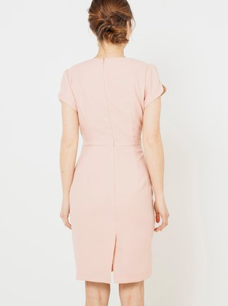 Šaty do práce pre ženy CAMAIEU - svetloružová