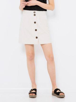 Krémová sukně CAMAIEU