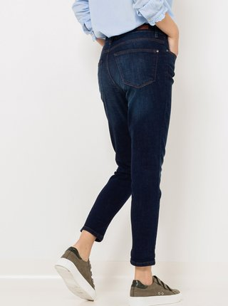 Modré zkrácené džíny CAMAIEU