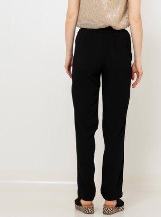 Černé kalhoty se zavazováním CAMAIEU