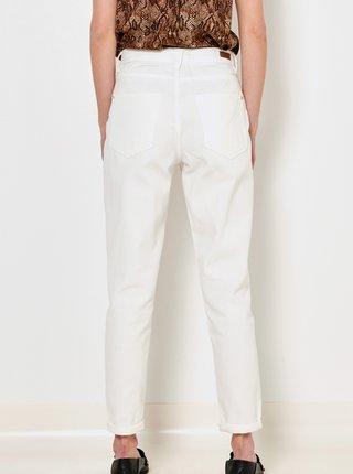 Bílé straight fit džíny CAMAIEU