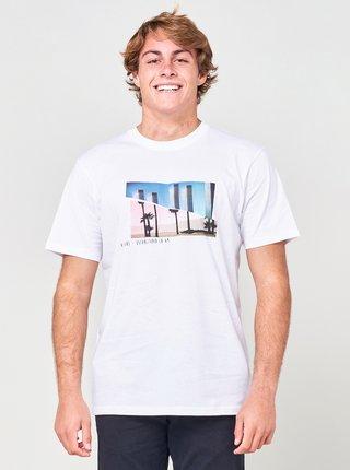 Bílé pánské tričko s potiskem Rip Curl