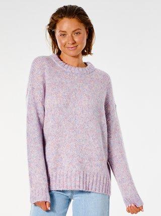 Světle fialový dámský žíhaný svetr Rip Curl