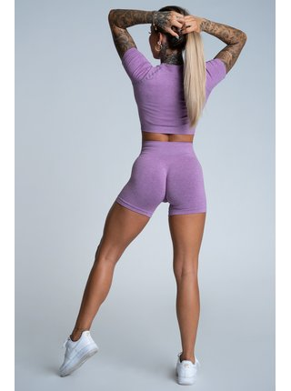 Kraťásky Gym Glamour Bezešvé Lilac