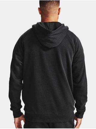 Mikina Under Armour UA Rival Cotton Hoodie - černá
